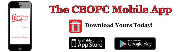 CBOPC Mobile App Slider