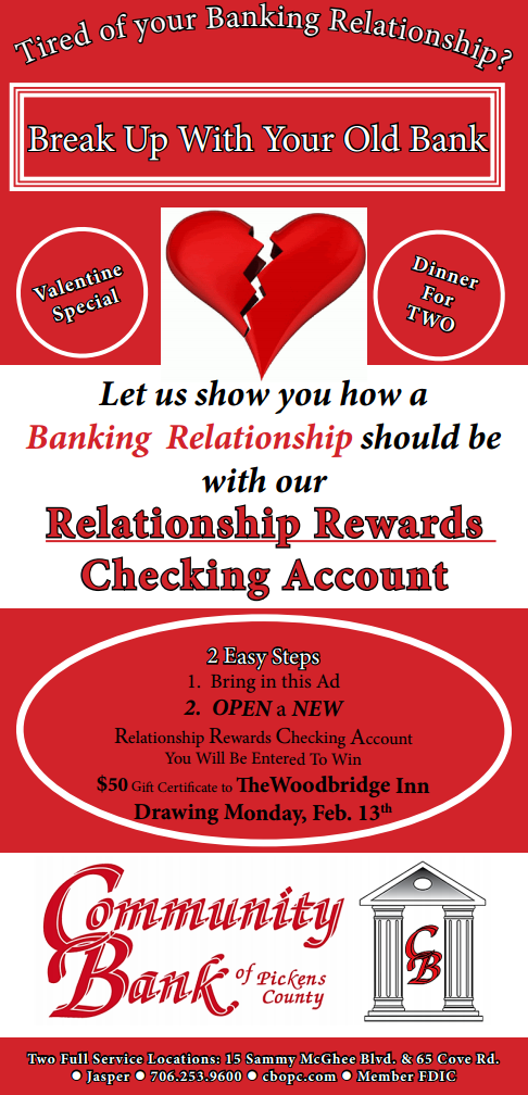 Relationship Rewards Checking Account